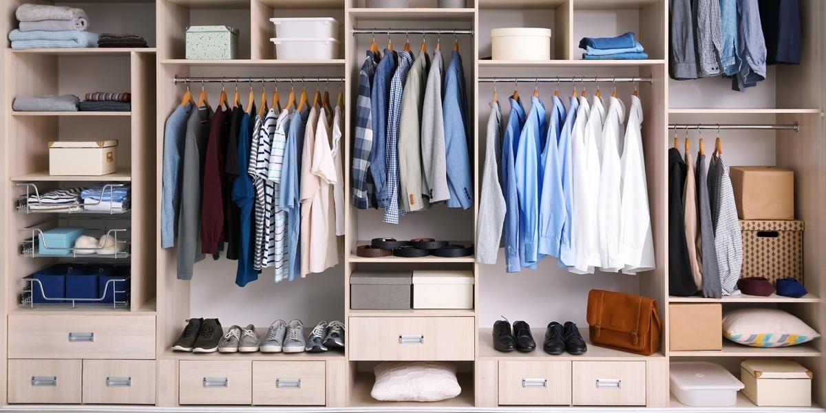 7 правил хранения одежды в шкафу