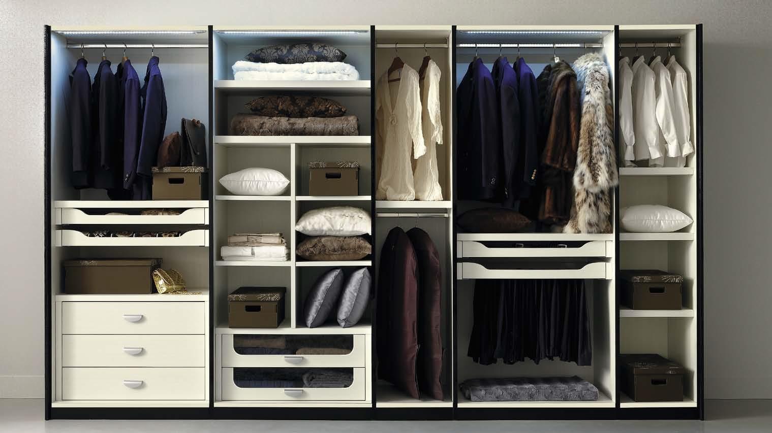 Какое сделать наполнение на метровый шкаф?